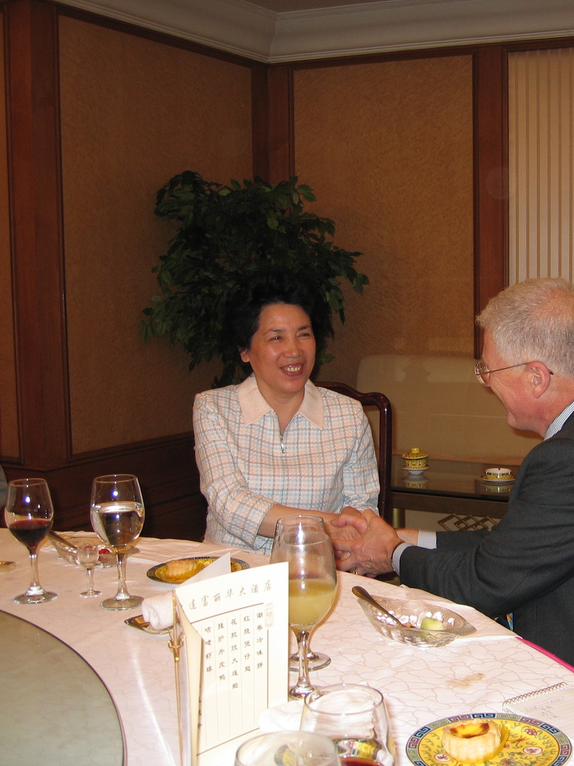 Ed Durgin - Dalian (China) Dinner with M