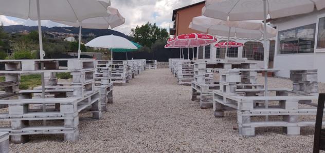 Casale Tuscolano Tavoli Rustici