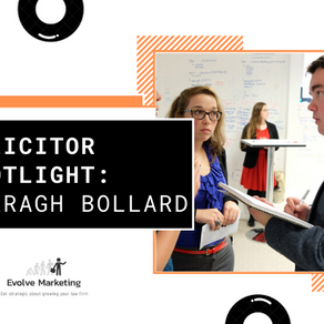 """Anticipate what new practice areas will be relevant"" Darragh Bollard [Solicitor Spotlight Series]"