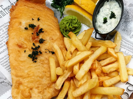 """My """"fish and chips"""""""