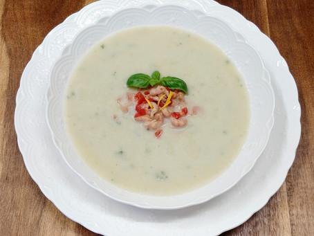 Cold chicory soup