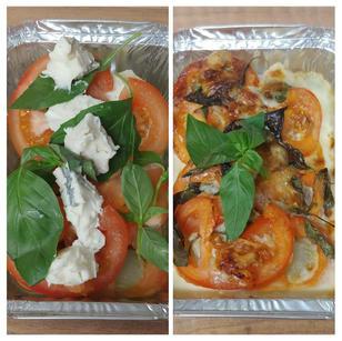 Gratin de fenouil au gorgonzola et basil