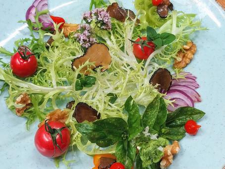 Truffles salad