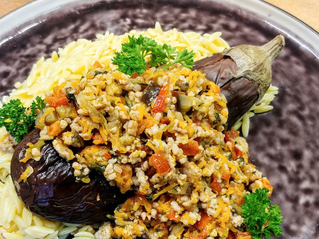 Stuffed preserved eggplant
