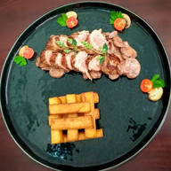 Veal and fries