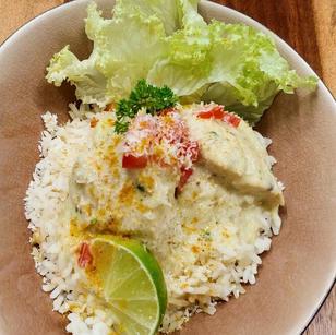Poulet curry-coco façon thai