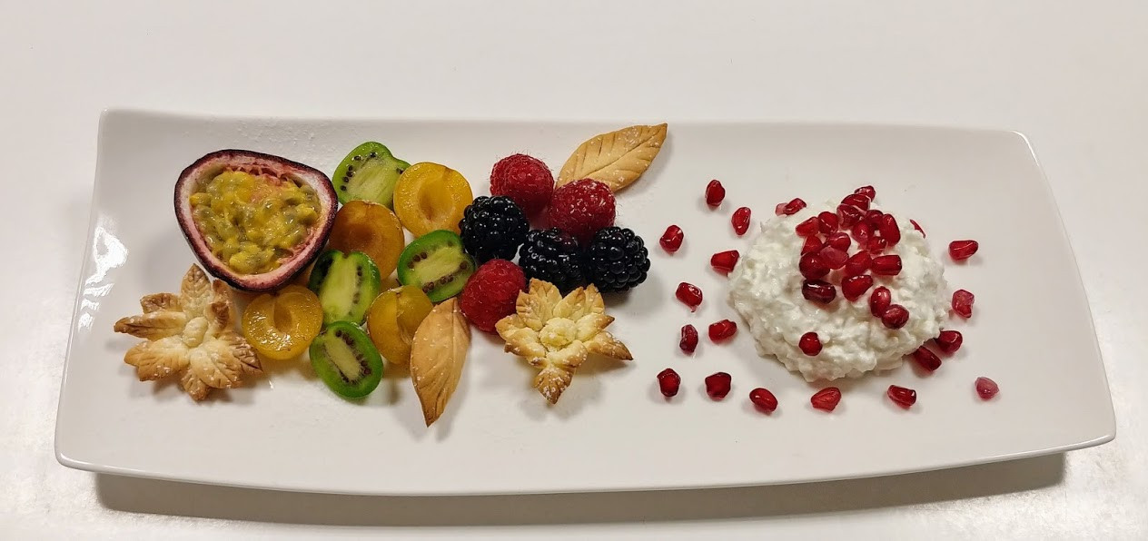 Exoctic fruits salad