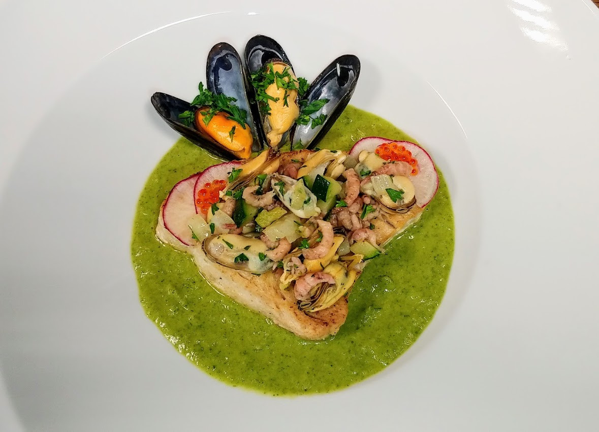 White tuna with mussels and shrimps.jpg