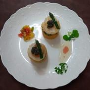 Caviar and elegance