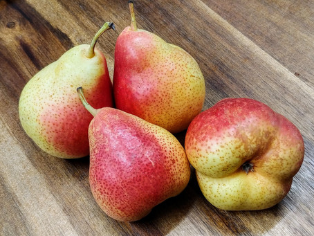 """The """"Forelle"""" pears"""
