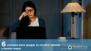 6 consejos para apagar su cerebro laboral y dormir mejor