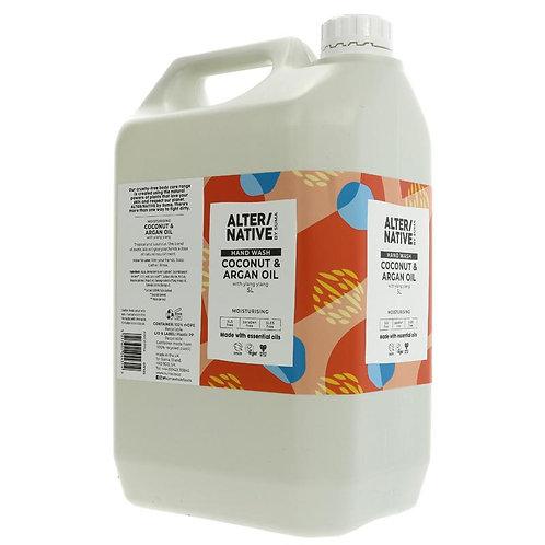 Alter/Native Coconut & Argan Hand Wash 500ml in Glass Bottle (£1.10/