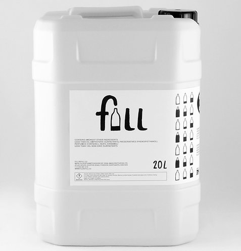 FILL Bathroom Cleaner in Glass Bottle 1kg (0.62/100g)