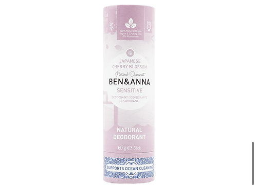 Ben & Anna Deodorant Japanese Cherry Blossoms