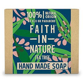 Faith in Nature Tea Tree Soap Bar 100g
