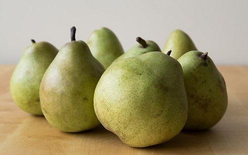 Organic Large Pears Comice (each) (£0.42/100g)