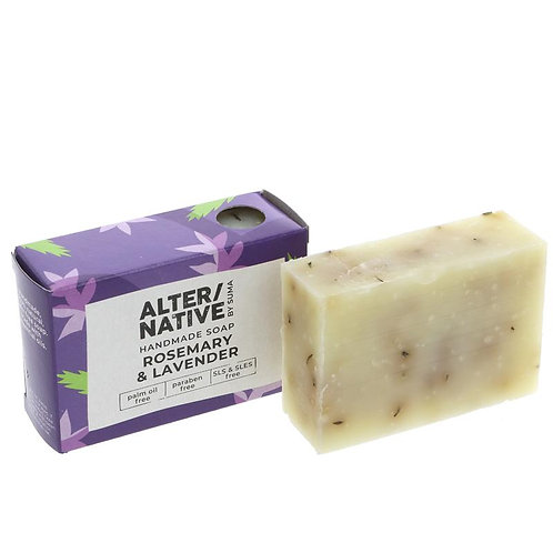 ALTER/NATIVE Rosemary & Lavender Soap Bar