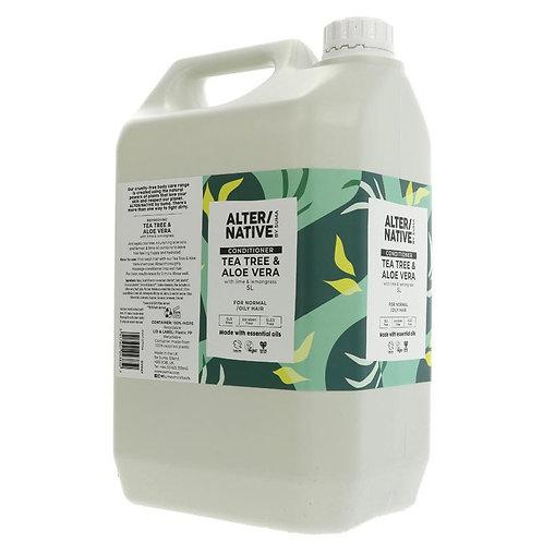 ALTER /NATIVE Tea Tree & Aloe Vera Conditioner 500ml (£1.10/100g)