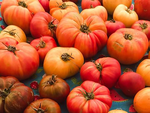 Organic Heirloom Tomatoes Loose 250g (£1.00/100g)