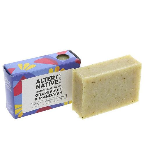 ALTER/NATIVE Grapefruit & Mandarin Soap Bar 95g
