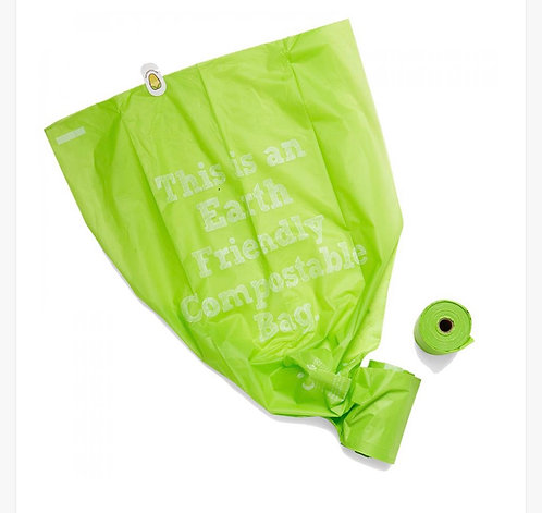 Dog Waste Bags Refill x2