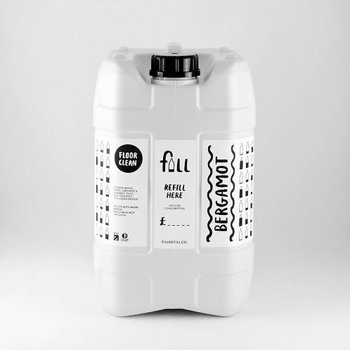 FILL Floor Cleaner in Glass Bottle 1kg   Unscented (0.52/100g)