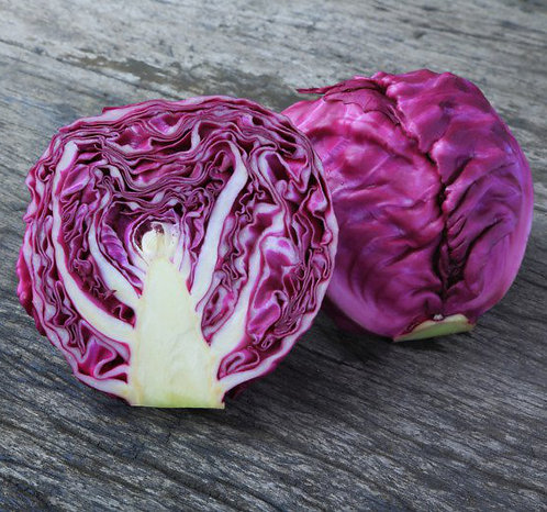 Organic Red Cabbage (each)