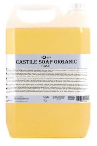 Organic Castile Soap 500ml (£1.10/100g)