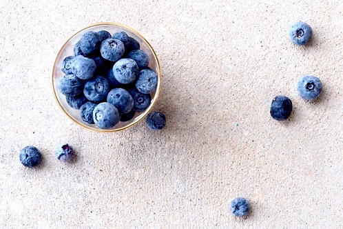 Organic Frozen Blueberries 500g (£0.88/100g)