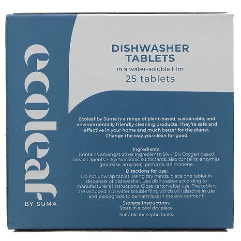 Ecoleaf Dishwasher Tablets x25