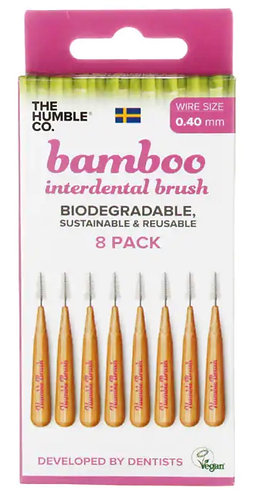 Bamboo Interdental Brush 0.4mm