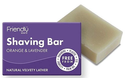 Friendly Natural Shaving Bar 95g