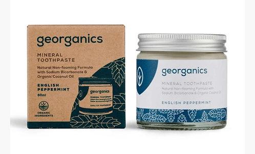 GEORGANICS Toothpaste English Peppermint 60ml