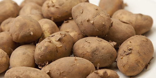 Organic Potatoes Red Cara (1 kilo) (£0.85/kg)
