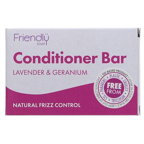 Friendly Lavender & Geranium Solid CONDITIONER