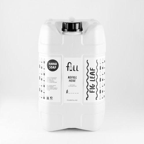 FILL Fig Leaf Hand Wash 500g in Glass Bottle  (£0.76/100g)