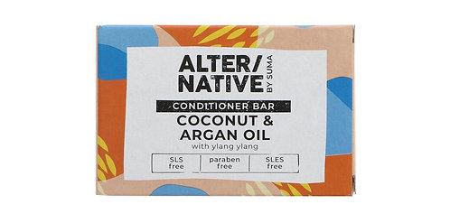 ALTER/NATIVE Coconut & Argan Oil conditioner Bar 90g