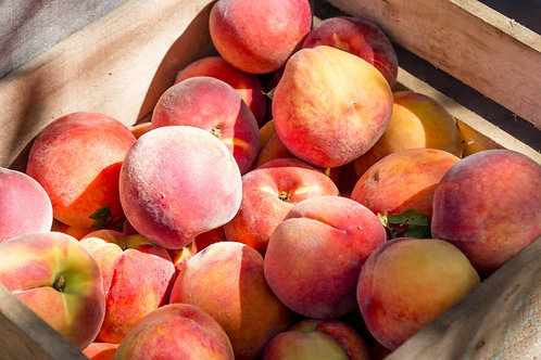 Organic Spanish Peach (each) (£1.05/100g))
