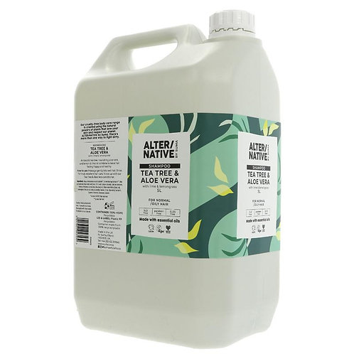 ALTER /NATIVE Tea Tree & Aloe Vera Shampoo 500ml (£1.10/100g)