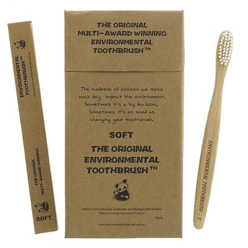 Environmental toothbrush soft (each)