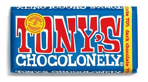 Tony's Chocolate Bar 70% Extra Dark 180g