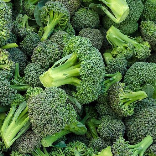 Organic Large Broccoli (each) (£0.75/100g)