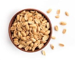 Organic Peanuts Roasted & Salted  350g (£1.29/100g)