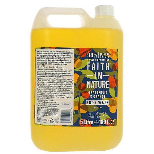 Faith in Nature Orange & Grapefruit Body Wash 500ml (£1.21/100g)