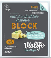 Violife Vegan Cheeze Block Cheddar Style (approx. 200g) (£2.00/100g)