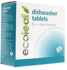 Ecoleaf Dishwasher Tablets (25 units)
