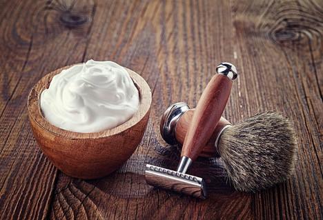 Coconut shaving cream