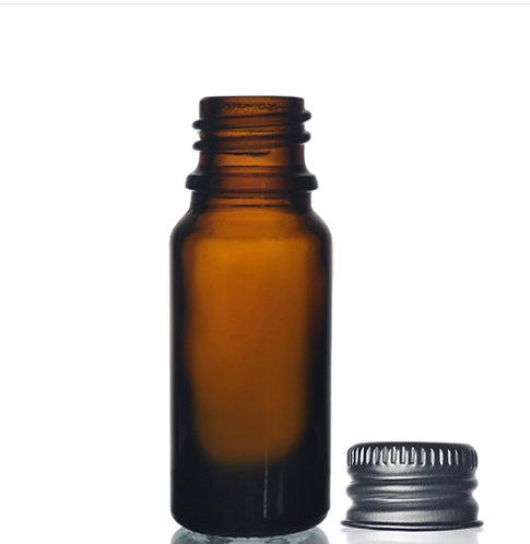 Amber Bottle 10ml with Aluminium Screw Cap