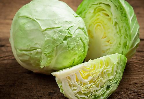 Organic White Cabbage (each) (£2.30/kg)
