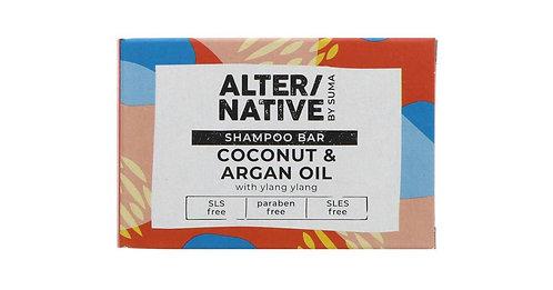 ALTER/NATIVE Coconut & Argan Oil Shampoo Bar 90g